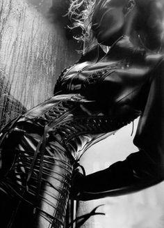 →nothingpersonal black leather... Beautiful photograph.