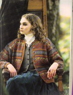 Oh, how I want to knit this Fair Isle sweater by Alice Starmore!all I need are more hours in a day :D Knitting Designs, Knitting Projects, Knitting Patterns, Fair Isle Knitting, Hand Knitting, Fair Isle Pullover, Vintage Outfits, Vintage Fashion, Fair Isle Pattern