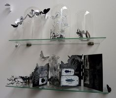 A sample of her work, 2D and 3D