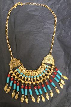 Kenneth Jay Lane 'Cleopatra' Necklace #KJL #necklace