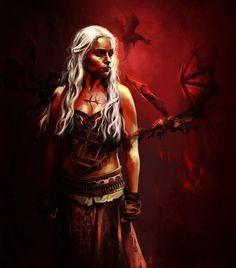 Daenerys Targaryen - Game of Thrones - Claudia Caranfa