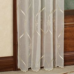 Cavalier Fleur De Lis Sheer Window Treatment Croscill pertaining to dimensions 2000 X 2000 Croscill Fleur De Lis Shower Curt