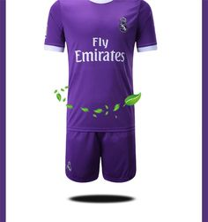 7f7e8e6da 16-17-18 Real Madrid football suit Real Madrid long-sleeved football  uniforms
