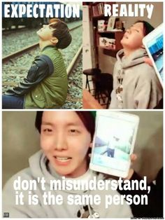 J-hope still love your bare face, you are life haha