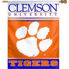 WinCraft Clemson University Vertical Flag