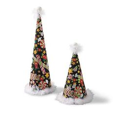Mary Engelbreit Candy Cane Cone Tree - $15 & $19