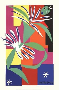 Creole Dancer Poster Print by Henri Matisse Art by Room Bedroom People Cultural Dance Abstract Modern Figurative Men Women Tango Hispanic Decorating Ideas Contemporary Performing Arts Romantic Passionate