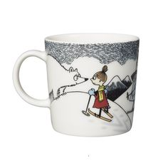 Moomin mug 2014 winter Moomin Mugs, Moomin Valley, Tove Jansson, Helsingborg, Little My, Winter Holidays, Tea Pots, Objects, Snoopy