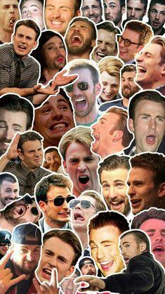 50 shades of Chris Evans Capitan America Chris Evans, Chris Evans Captain America, Memes Marvel, Avengers Memes, The Avengers, Steve Rogers, Marvel Actors, Marvel Dc, Super Hero Shirts
