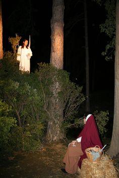 L'anunciació de l'àngel Gabriel a Maria. L'edició de l'any 2007.