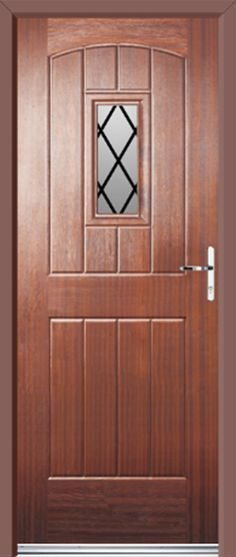 How to paint a front door including tips for upvc https for Cottage style front doors