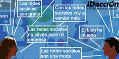 13 falsos tópicos de las redes sociales La Red, Signs, Socialism, Affirmations, Social Networks, News, Shop Signs, Sign