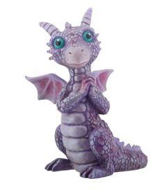 Mythical Pink and Purple Happy Baby Dragon Fantasy Figurine 8193 Figure Statue Alien Creatures, Fantasy Creatures, Mythical Creatures, Biscuit, Mystical Animals, Clay Dragon, Pet Dragon, Dragon Crafts, Jade Dragon
