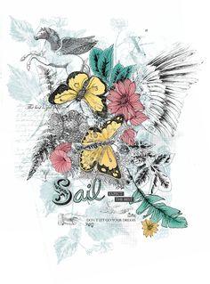 Sail, FW13   lauracaracciolo.tumblr.com Sailing, Homemade, Paper Envelopes, Home Made, Diy Crafts, Hand Made, Diys
