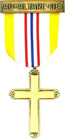 NCCS Boy Scout Emblems - Ad Altare Dei 13-14 yrs old Catholic