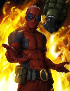 Catch #Love, #Deadpool #Comics