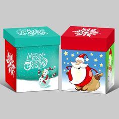 Printing Custom Christmas Gift Box - Christmas gift box Paper Packaging, Box Packaging, Cosmetic Box, Christmas Gift Box, Led Flashlight, Boxes, Lily, Printing, Handmade