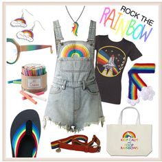 Unbenannt #1648 by synkopika on Polyvore featuring PalmerCash, UNIF, Hannah Makes Things, My Little Pony, Marco de Vincenzo and McQ by Alexander McQueen