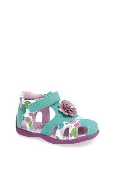 Kio Trend 'Estelle' Sandal (Baby, Walker & Toddler) available at #Nordstrom