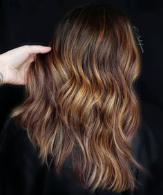 35 Balayage Hair Color Ideas for Brunettes in 2019 Brilliant Brunette, French Hair, Honey Hair, Hair Color Balayage, Brunettes, Auburn, Swirls, Long Hair Styles, Lights