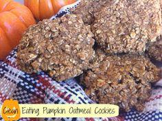 Little b's healthy habits: Clean Eating Pumpkin Oatmeal Cookies