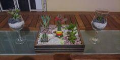 Mini-jardín y terrarios en copas
