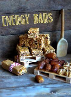 S-Küche: Meine ultimativen Granola Bars http://s-kueche.blogspot.de/