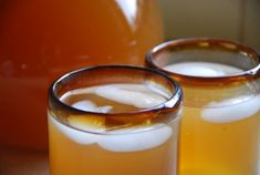 Crazy for Tepache - Tepache: A home made fermented drink that comes from the state of Jalisco – also breeding ground of other Mexican symbols like Tequila, Charros and Mariachis. Tepache has a base of fresh pineapple, true cinnamon, piloncillo and water and has been drank in Mexico since Pre-Colonial times.