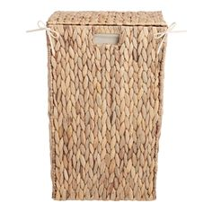 Target Home Decor Natural Hyacinth Willa Laundry Hamper with Lid by World Market Laundry Hamper With Lid, Woven Laundry Basket, Wicker Laundry Hamper, World Market Store, Hamper Basket, Interior Minimalista, Nature Decor, My New Room, Decorative Pillows