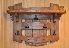"""Вешалка настенная под старину - """"Pro-Wood"""" компания по изготовлению мебели под старину в Житомире"""