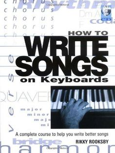This book helps both keyboard and guitar players to find and develop interesting chords and chord sequences on a keyboard, and then use them to write their own songs. Rather than trying to teach intri