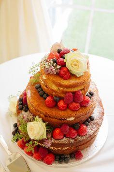 Bolos Naked Cake, Dessert Recipes, Desserts, Beautiful Cakes, Wedding Cakes, Cheesecake, Wedding Inspiration, Cake Ideas, Food