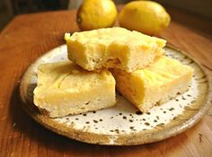 Trim Healthy Mama Buttery Lemon Bars | Margeaux Vittoria