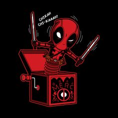 Merc in the Box #Deadpool #Taco #Chimichanga #JackInABox