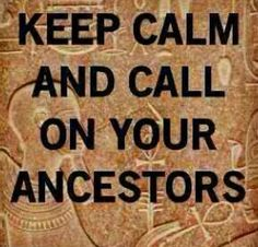 Keep Calm? I can't keep calm cuz they comin for me Orishas Yoruba, Spirit Guides, Spiritual Awakening, Spiritual Wisdom, Family History, Constellations, Keep Calm, Wise Words, Karma