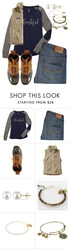 """""""Happy Thanksgiving!! 🦃🍂🍁"""" by swwbama ❤ liked on Polyvore featuring Abercrombie & Fitch, L.L.Bean, Patagonia, Miadora and Alex and Ani"""