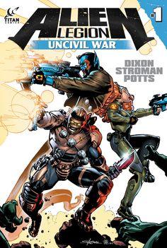 Alien Legion returns with Uncivil War this June from Titan Comics.