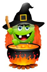 Witch smiley, halloween smiley, holiday smiley, witch smiley