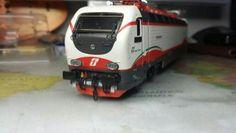 FS E 402 freccia bianca