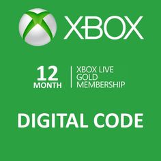 12 Month Gold Membership Xbox Live CD-Key Global for only $39.95. #videogames #game #games #deal #deals #gaming #awesome #awesomeness #awesomesauce #cool #gamer #gamers #win #ftw
