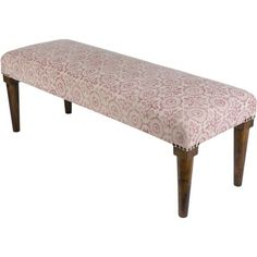 Bungalow Rose Petunia Upholstered Bedroom Bench