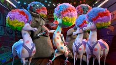 Madagascar 3 - Afro Circus/I Like to Move It Remix