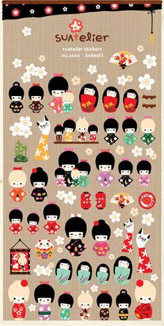 Encontre mais Papéis de parede Informações sobre Cute Girl Kimono móvel decorativa adesivos Scrapbooking DIY adesivos de parede adesivo, de alta qualidade adesivo de pele, adesivo nissan China Fornecedores, Barato adesivo menina de Living Attitude em Aliexpress.com