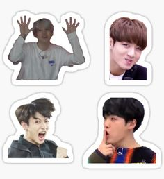 Bangtan Boys stickers featuring millions of original designs created by independent artists. Pop Stickers, Meme Stickers, Tumblr Stickers, Printable Stickers, Bts Derp Faces, Meme Faces, Bts Memes, Bts Face, Bts Chibi