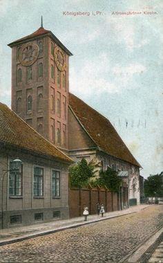 Königsberg Ostpreußen, Altrossgärtner Kirche, 1915