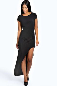 Ruby Ruched Side Maxi Dress alternative image