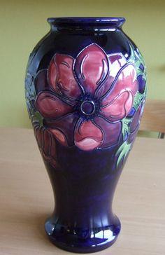 Moorcroft Anemone Vase