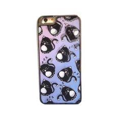 アウトレット SKINNYDIP スキニーディップ iphone6S 6 ケース ネコ 猫柄 動物柄 動く あいふぉんけーす 海外ブランド