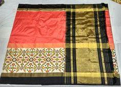 Indian Traditional Handloom Sarees: Pochampally ikkat silk sarees