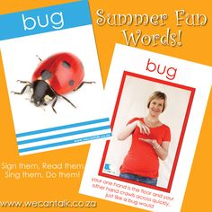 BUG - a fun little sign to learn and do in the garden!